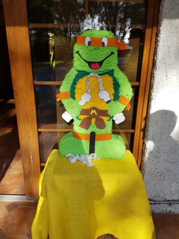 Piñata tortugas ninjas chicureo
